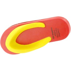 Flip Flops Stress Reliever Printed with Your Logo