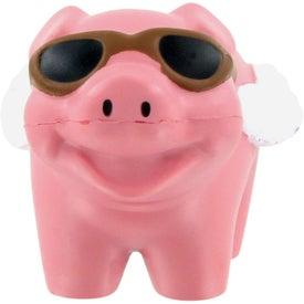 Advertising Flying Pig Stress Ball