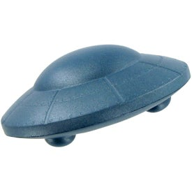 Flying Saucer Stress Ball for Customization