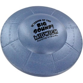 Flying Saucer Stress Ball Printed with Your Logo