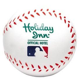 "Foam Baseball Stress Reliever (2 1/2"")"