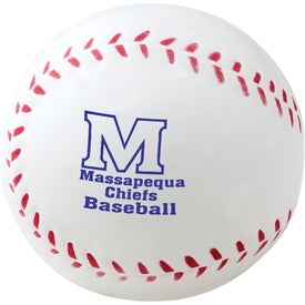 "Foam Baseball Stress Reliever (2 1/2"")"