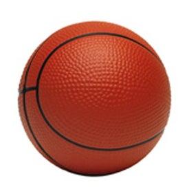 """Foam Basketball Stress Reliever (2 1/2"""")"""