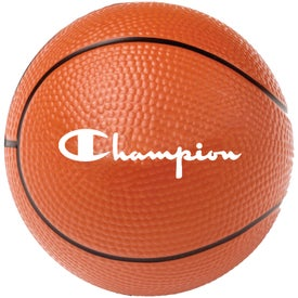 "Foam Basketball Stress Reliever (2 1/2"")"