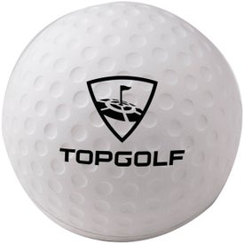 "Foam Golf Ball Stress Reliever (2 1/2"")"