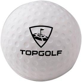 """Foam Golf Ball Stress Reliever (2 1/2"""")"""