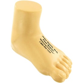 Logo Foot Stress Toy
