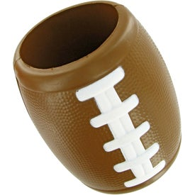 Football Bottle Holder Stress Toy