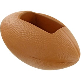 Printed Football Cell Phone Holder Stress Toy