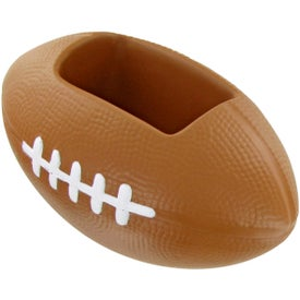 Customized Football Cell Phone Holder Stress Toy