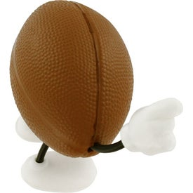 Promotional Football Figure Stress Ball