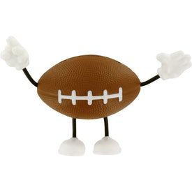 Football Figure Stress Ball