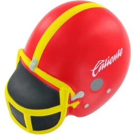 Football Helmet Stress Reliever with Your Slogan