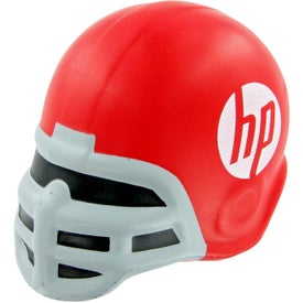 Logo Football Helmet Stress Toy