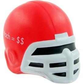 Personalized Football Helmet Stress Toy