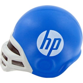 Football Helmet Stress Toy Imprinted with Your Logo