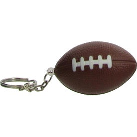 Football Key Chain Stress Ball for your School