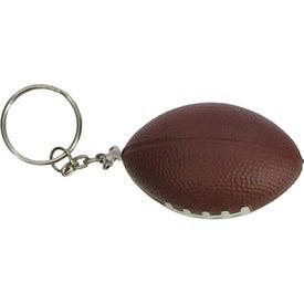 Football Key Chain Stress Ball Giveaways