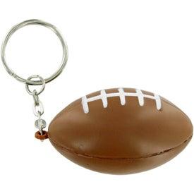 Football Keychain Stress Toy for Marketing
