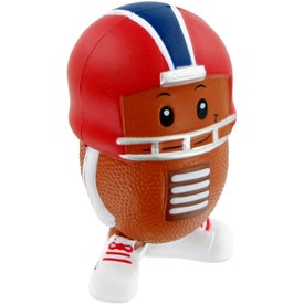 Football Mad Cap Stress Toy for Your Organization