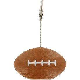 Football Memo Holder Stress Ball