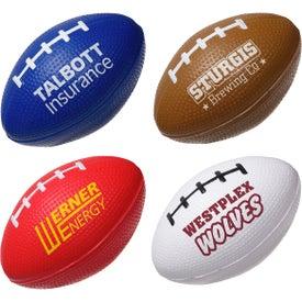 Football Slo-Release Serenity Squishy Stress Ball