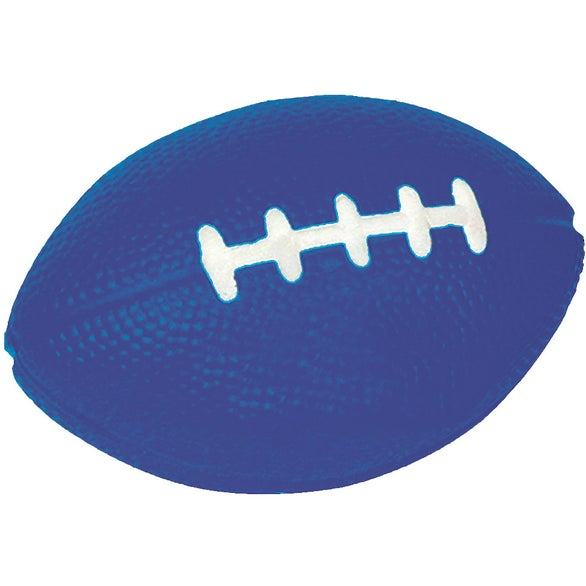 Blue Football Sport Stress Relievers
