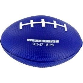 Custom Football Stress Reliever