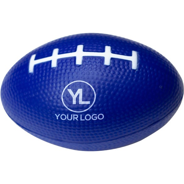 Blue Football Stress Reliever