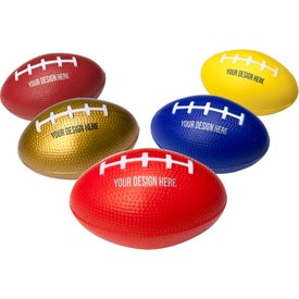 "Football Stress Reliever (2"" x 3.25"")"
