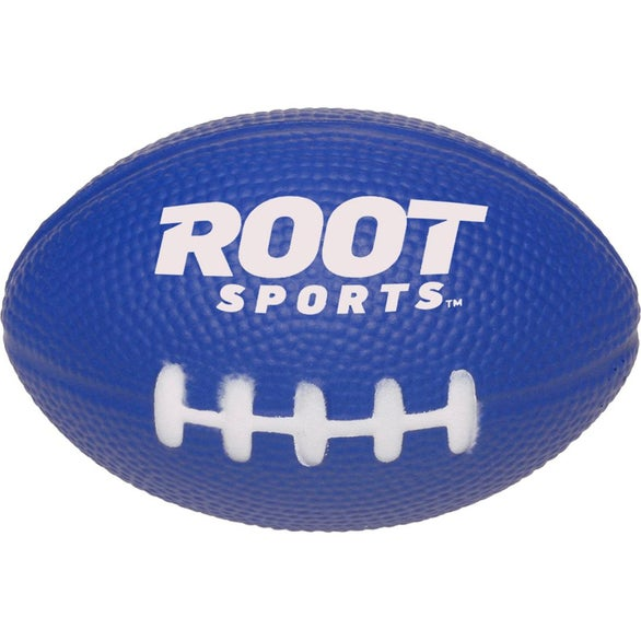 Blue Football Shaped Stress Reliever