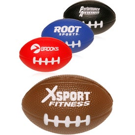 Football Shaped Stress Relievers