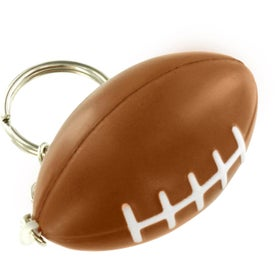Football Key Chain Stress Ball for Advertising