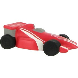 Imprinted Formula 1 Racer Stress Reliever