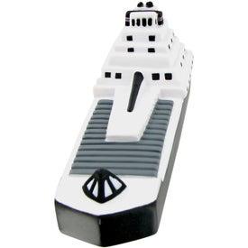 Logo Freight Ship Stress Toy