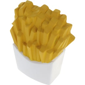 Advertising French Fries Stress Ball