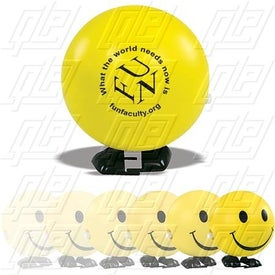Friendly Face Wind Up Stress Ball