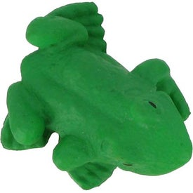 Frog Stress Reliever with Your Slogan