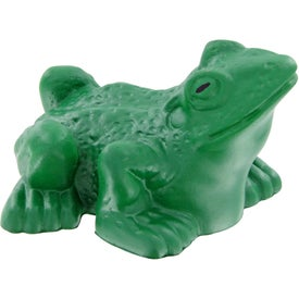 Personalized Frog Stress Toy