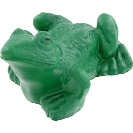 Monogrammed Frog Stress Toy