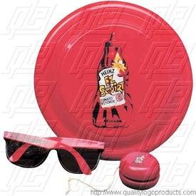 Flyer, Sunglasses, Yo-Yo Fun Kit