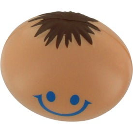 Funny Face Stress Reliever Branded with Your Logo