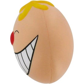 Promotional Funny Face with Smile Stress Reliever