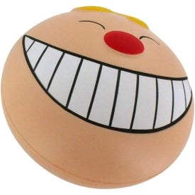 Funny Face with Smile Stress Reliever for Advertising