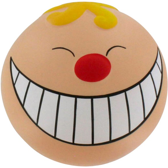 See Item Funny Face with Smile Stress Reliever