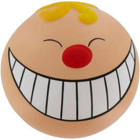 Funny Face with Smile Stress Reliever