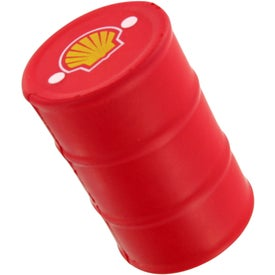 Branded Gallon Drum Stress Toy