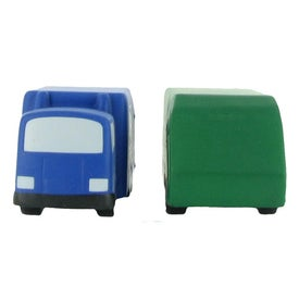 Company Garbage Truck Stress Ball