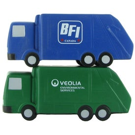 Garbage Truck Stress Ball Printed with Your Logo