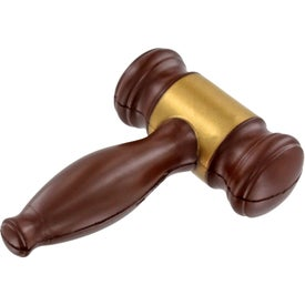 Gavel Stress Ball with Your Logo